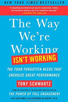 The Way We're Working Isn't Working book cover
