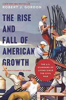 The Rise and Fall of American Growth book cover