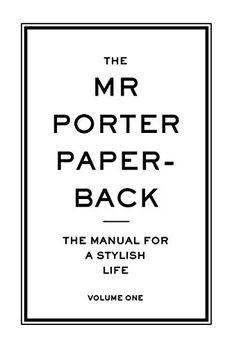 The Mr Porter Paperback book cover