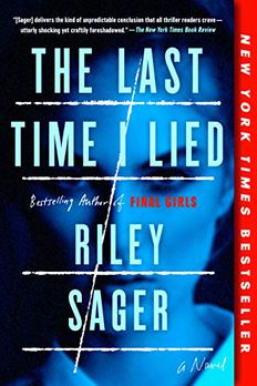The Last Time I Lied book cover