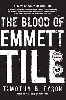 The Blood of Emmett Till book cover