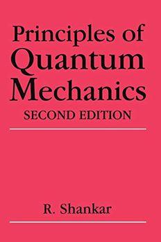 Principles of Quantum Mechanics book cover
