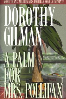 Palm for Mrs. Pollifax, a book cover