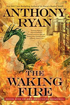 The Waking Fire book cover