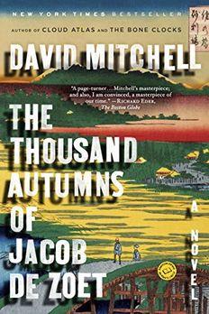 The Thousand Autumns of Jacob de Zoet book cover