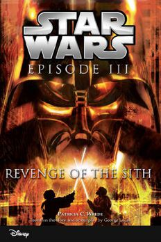 Star Wars Episode III book cover