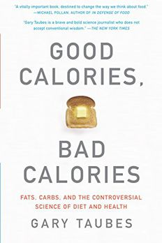 Good Calories, Bad Calories book cover