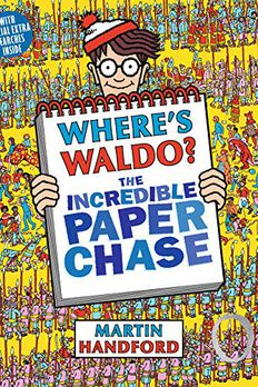 Where's Waldo? The Incredible Paper Chase book cover