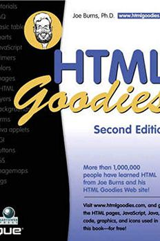 HTML Goodies book cover