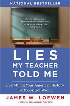 Lies My Teacher Told Me book cover