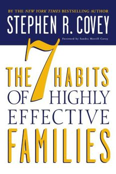 The 7 Habits of Highly Effective Families book cover