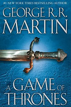 A Game of Thrones book cover