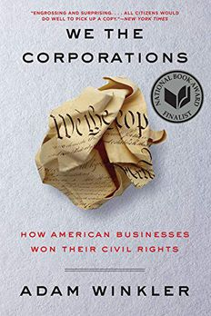We the Corporations book cover