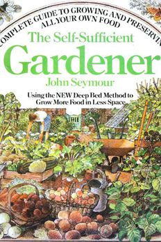 The Self-Sufficient Gardener book cover