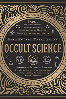 Elementary Treatise of Occult Science book cover