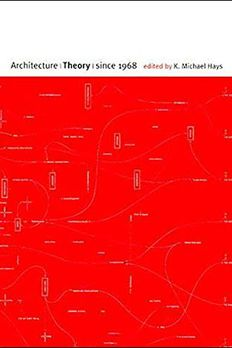 Architecture Theory since 1968 book cover