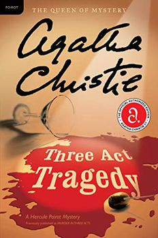 Three Act Tragedy book cover