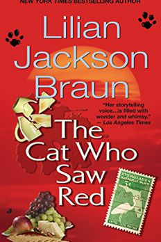 The Cat Who Saw Red book cover