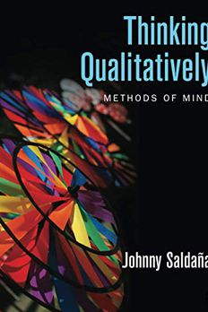 Thinking Qualitatively book cover