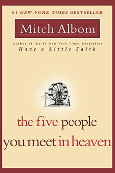 The Five People You Meet in Heaven book cover