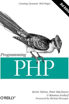Programming PHP book cover