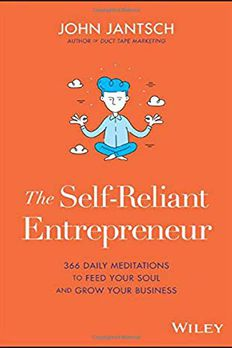 The Self-Reliant Entrepreneur book cover