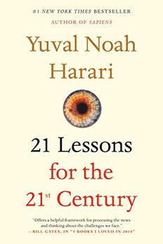 21 Lessons for the 21st Century book cover