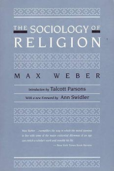 The Sociology of Religion book cover