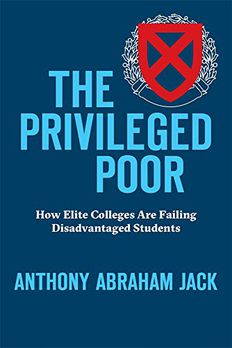The Privileged Poor book cover