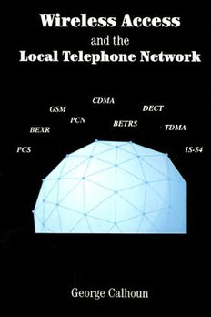 Wireless Access and the Local Telephone Network book cover