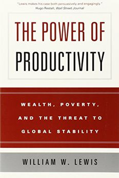 The Power of Productivity book cover