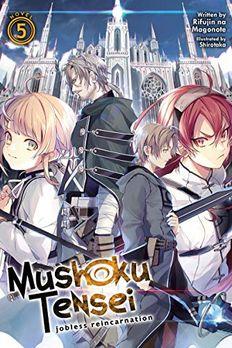 Mushoku Tensei book cover