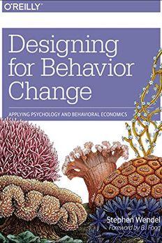 Designing for Behavior Change book cover