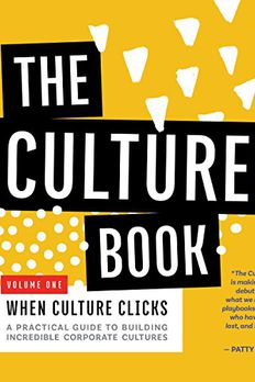 The Culture Book - Volume 1 book cover