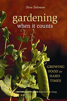 Gardening When It Counts book cover