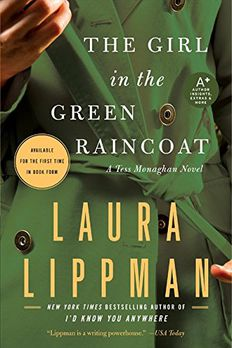 The Girl in the Green Raincoat book cover