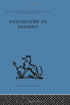 Psychiatry in Dissent book cover