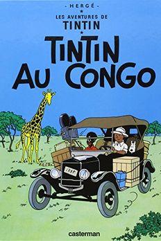 Tintin au Congo book cover
