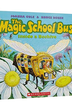 The Magic School Bus Inside a Beehive book cover