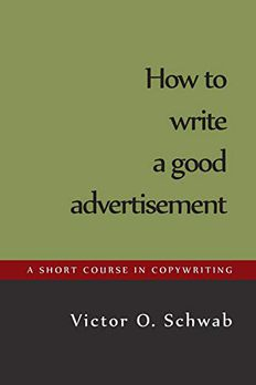How to Write a Good Advertisement book cover