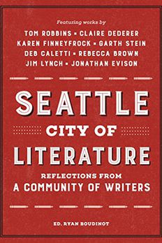 Seattle City of Literature book cover