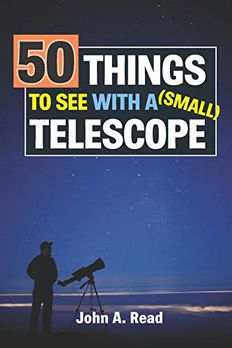 50 Things To See With A Small Telescope book cover
