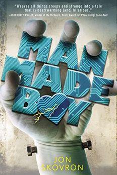 Man Made Boy book cover