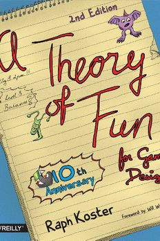 Theory of Fun for Game Design book cover