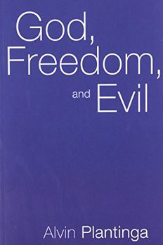 God, Freedom, and Evil book cover