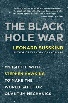 The Black Hole War book cover