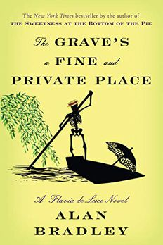 The Grave's a Fine and Private Place book cover