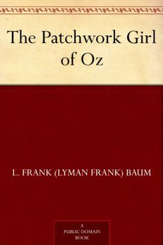 The Patchwork Girl of Oz book cover