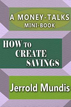 How to Create Savings book cover