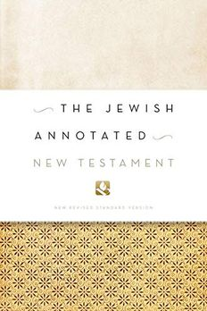 The Jewish Annotated New Testament book cover